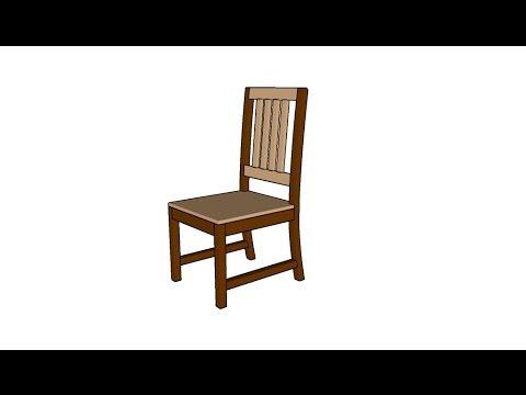 kitchen chair plans - youtube