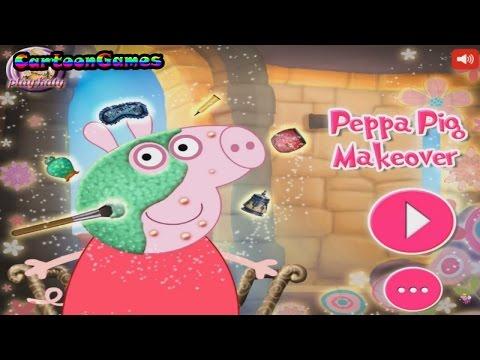 Cмотреть видео онлайн Makeup for Peppa Pig