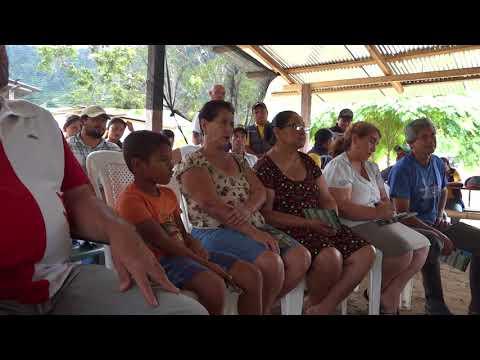 Técnicos municipales capacitan a campesinos de Río Santo