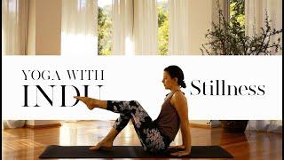 Yoga for beginners  Stillness | Yoga with Indu #003