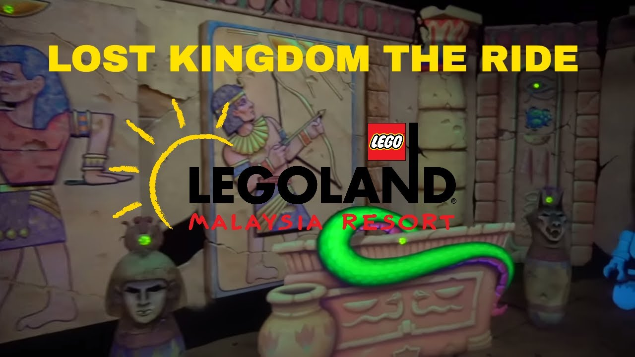 Lost Kingdom Adventure | Legoland Malaysia # ...