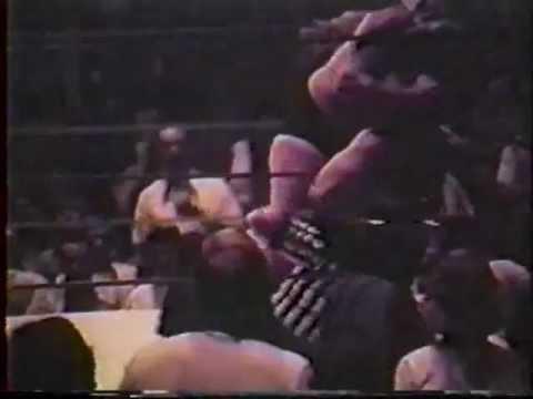 70s Wrestling Jackie Fargo vs The Sheik