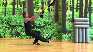 TRX 22 Sissy Lounge single leg Suspension Training Fabio Martella