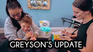 JWOWW GIVES AN UPDATE ON GREYSON'S JOURNEY