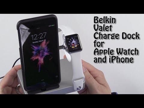 Belkin Valet Charge Dock For Apple Watch And IPhone First Look