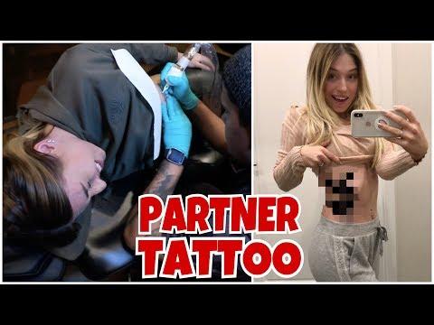 Wir lassen uns ein Partner Tattoo stechen 😱😳 | BibisBeautyPalace