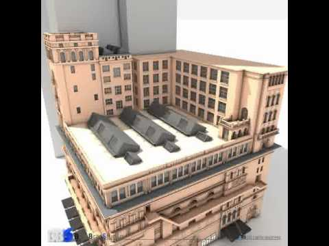 3D Model of Carnegie Hall