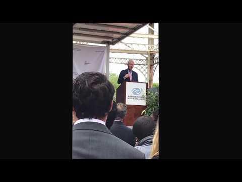 Bill Clinton speaks about NMTC (Madison Sq Boys & Girls Harlem clubhouse groundbreaking - 5.24.17)