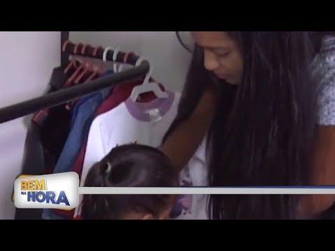 Voluntários de Birigui acolhem famílias venezuelanas