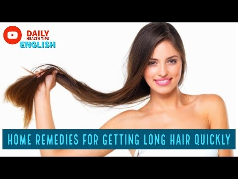 Home Remedies for Getting Long Hair Quickly -- Beauty Tips -- Hair Care - 동영상