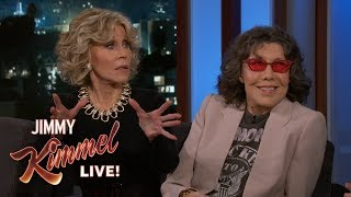 Lily Tomlin & Jane Fonda on 'Grace and Frankie' & Donald Trump thumbnail