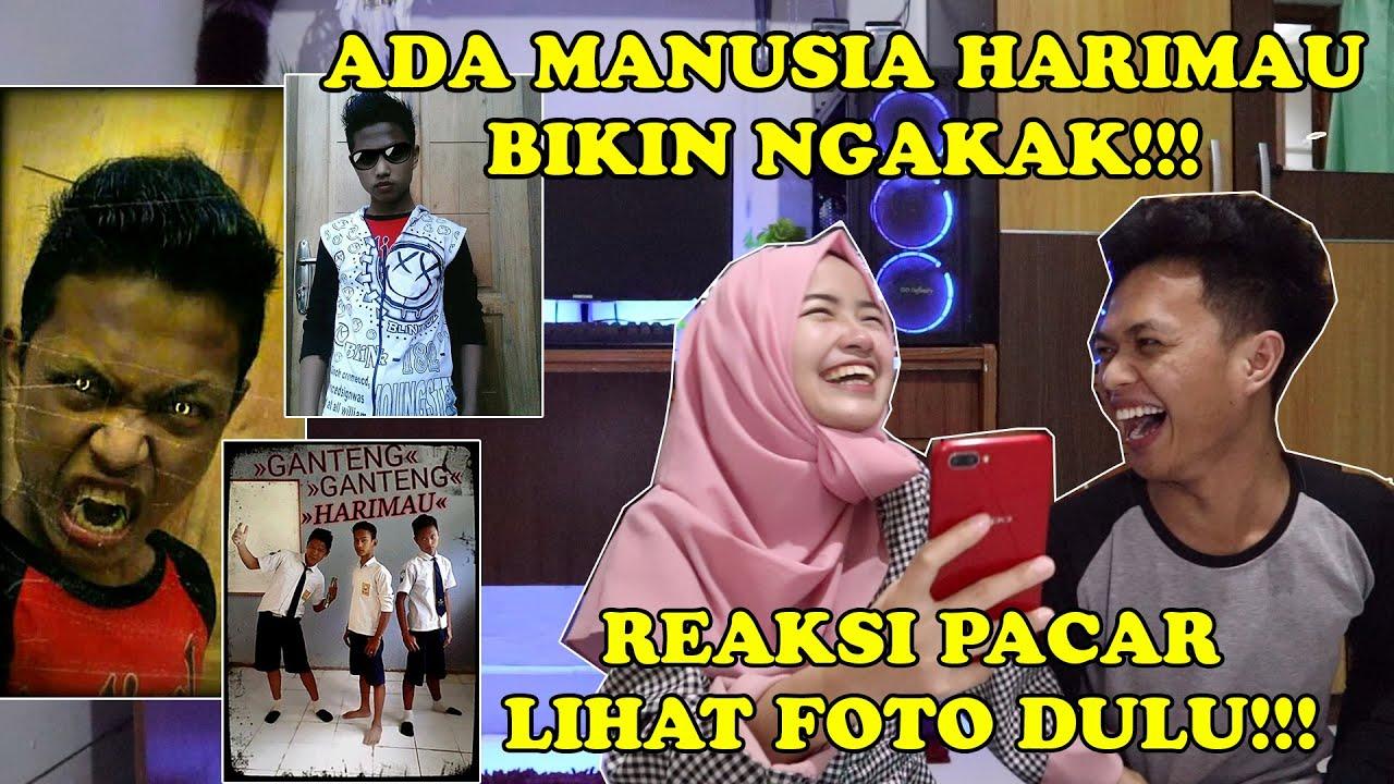 REAKSI PACAR LIHAT FOTO ZAMAN DULU!!! || ADA MANUSIA HARIMAU!!!