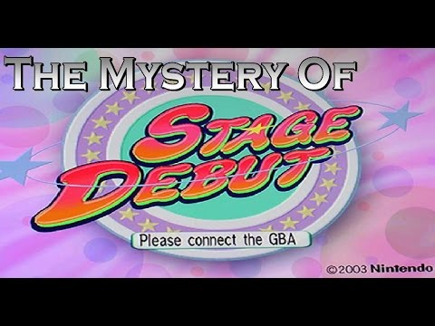 The Mystery of Stage Debut (Canceled Nintendo GameCube Game, 2004)