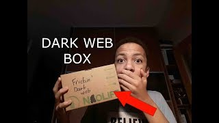 Opening Dark Web Box! (CREEPY AF)