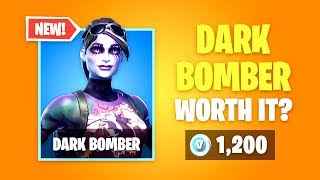 Is DARK BOMBER Skin Worth It? New Fortnite Item Shop!