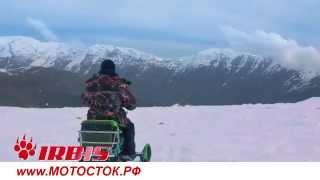 снегоход Динго 150 (DINGO T150) для рыбаков