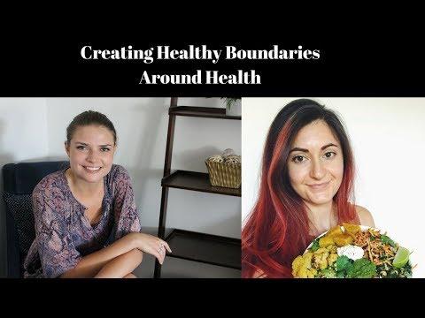 Creating Healthy Boundaries around Health