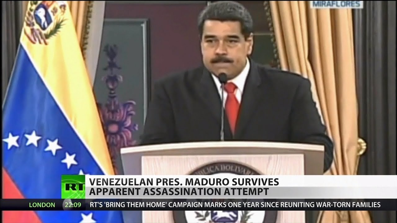 Six Arrested After Assassination Attempt on President Maduro