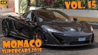 SUPERCARS IN MONACO 2018 - VOL. 15 (Apollo IE, Tushek, LaFerrari, GT2 RS, etc ... ) [2018 4K]