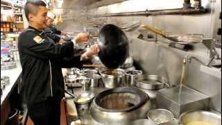 Chef Chung cooks at Cuisine Cuisine, Hong Kong