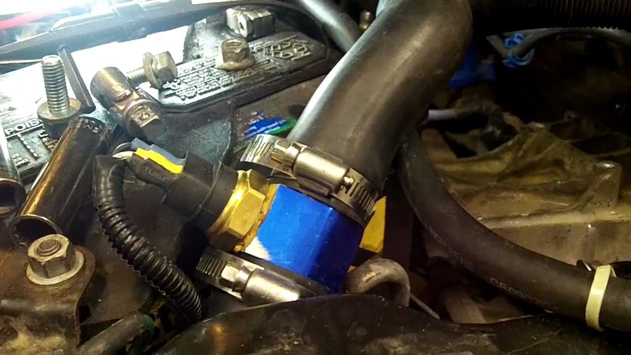 9701 Jeep Cherokee XJ Taurus Fan Install Part 1  YouTube