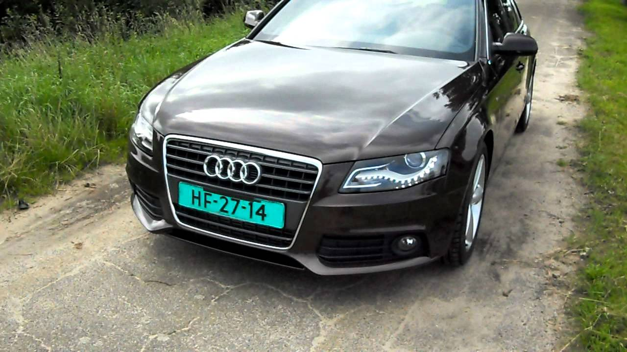Audi a4 avant s line 2 0 tfsi 179pk model 2011 youtube for S line exterieurpaket a4