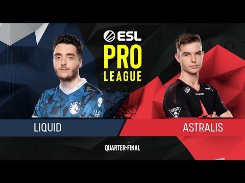 CS:GO - Liquid Vs. Astralis [Vertigo] Map 3 - Quarter-Final - ESL Pro League Season 9