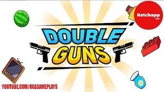 Double Guns - Level 1-21 Gameplay (Android IOS)