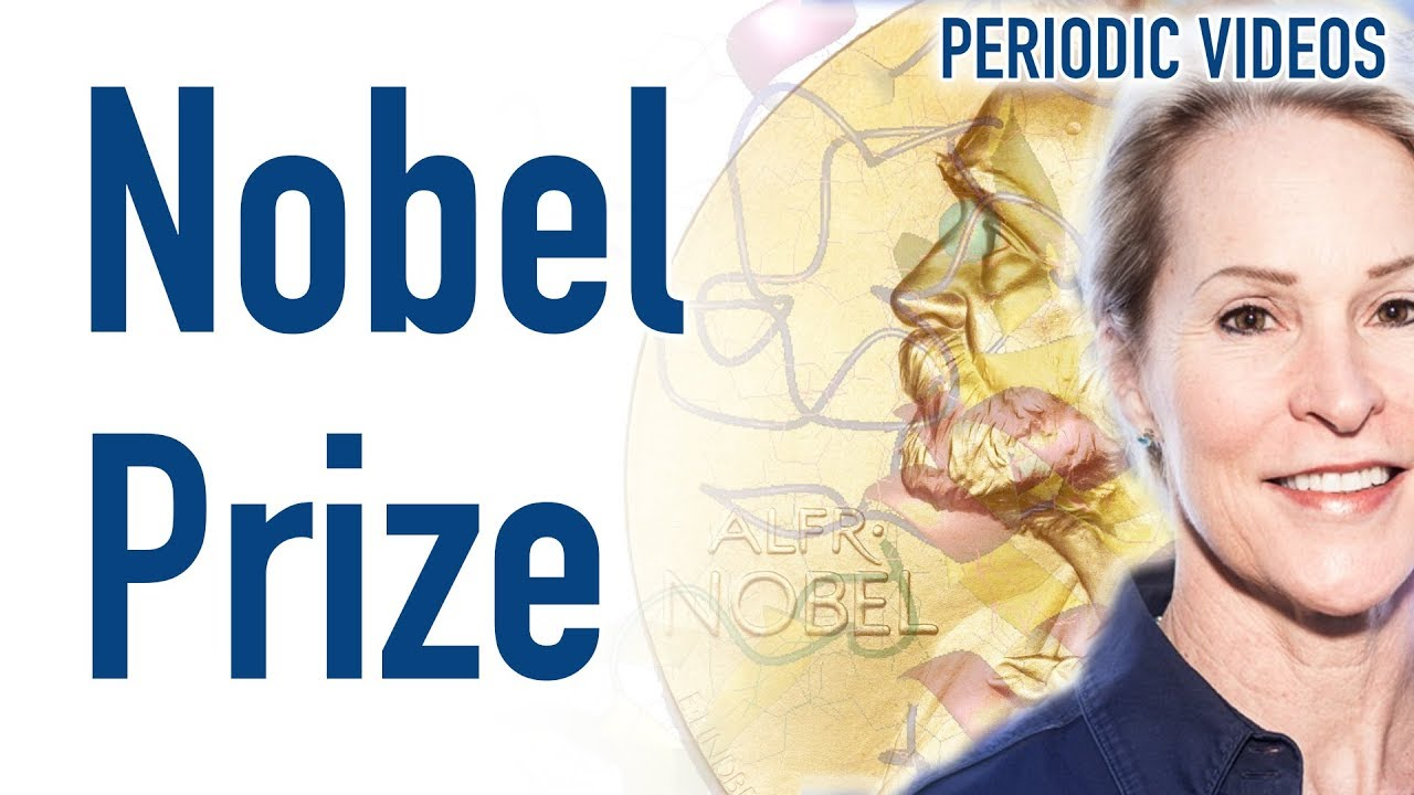 the 2018 nobel prize in chemistry periodic table of videos
