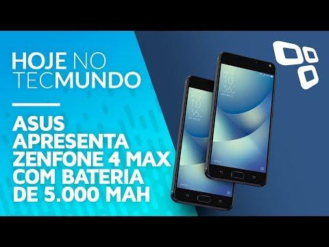ASUS apresenta Zenfone 4 Max com bateria de 5.000 mAh - Hoje no TecMundo