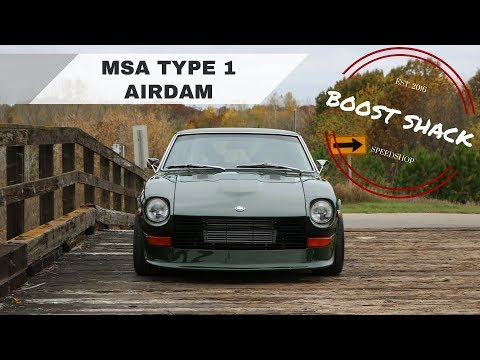Installing Msa Type 1 Airdam On The Rb25 280z Youtube