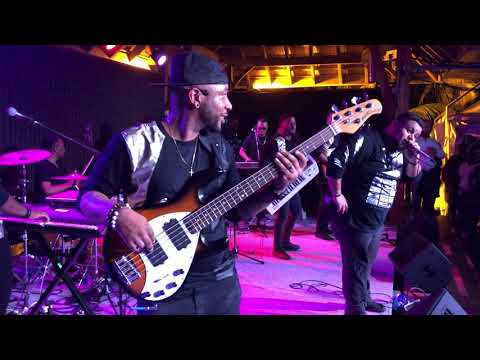 VAYB | [NODLY BASS VIEW] | LIVE IN MARTINIQUE | SHEDLY plays drums during BLACKOUT!!!