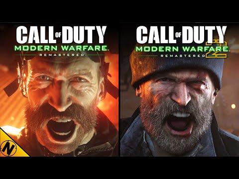 Call Of Duty: Modern Warfare 2 - Remastered Vs Modern Warfare - Remastered | Direct Comparison