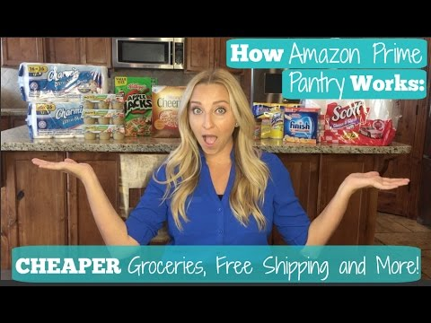 Amazon Prime Pantry: How to Use Amazon Prime to Save Money & Buy Groceries Online!