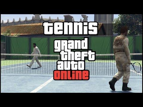 GTA Tennis #1 - Abgezockt! :D - GTA Online [DE]