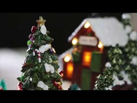 Christmas Village Music Box SKU# HD8413 - Wind & Weather