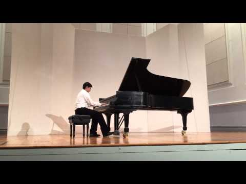 Altai Ozkan plays Gershwin Prelude 1 at Manhattan School of Music