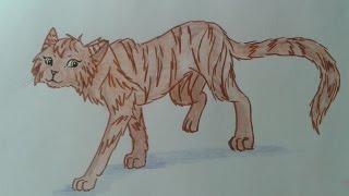 Рисуем Котов Воителей - Кисточка