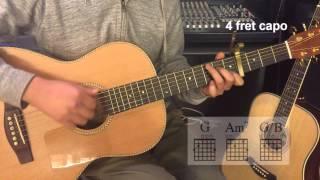 [Blue Note] 2NE1 투애니원 - lonely 기타 강의 Guitar Lesson 영상