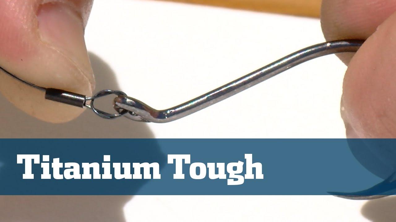 Wire Titanium Steel Leaders Knots Crimps - Florida Sport Fishing TV Rigging  Station