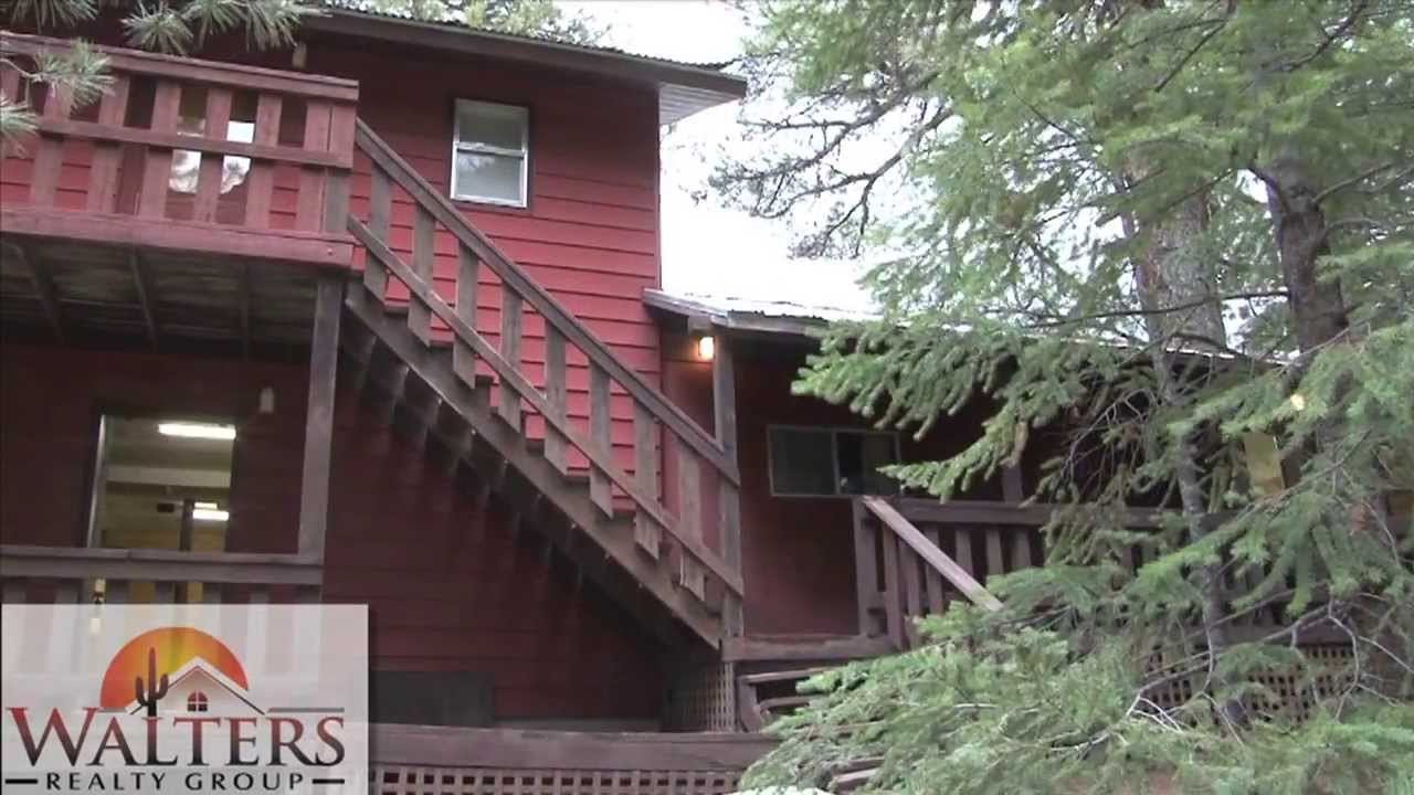 sale youtube elk watch dr cabins for in arizona az forest lakes