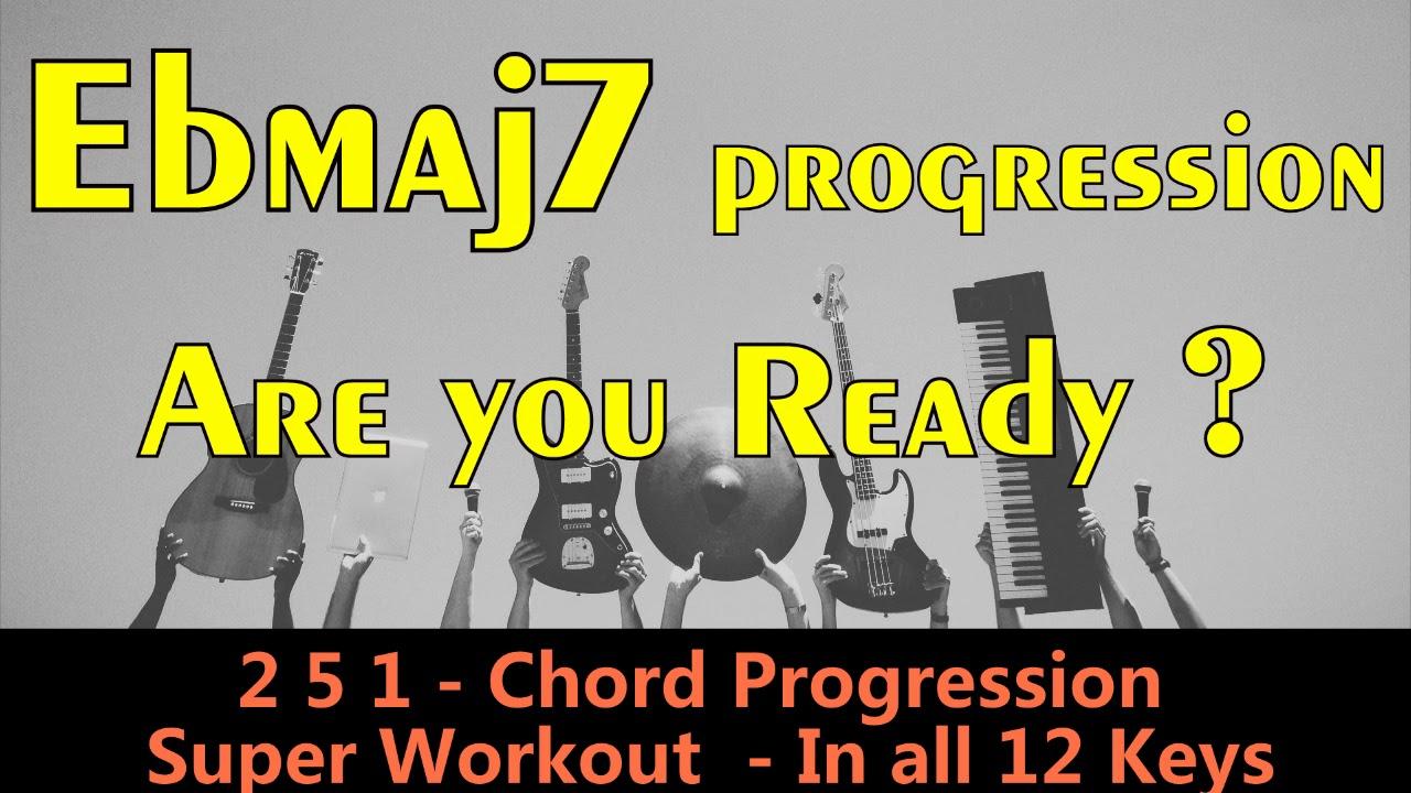 2 5 1 Backing Track Jazz Practice All 12 Keys Super Workout 120