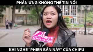 CẢM NGHĨ CỦA BẠN NHƯ NÀO KHI NGHE CHI PU HÁT LIVE | HAMTV