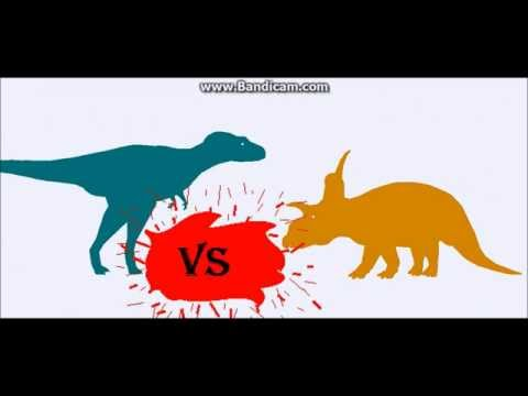 Albertosaurus Vs Xenoceratops Vs T rex