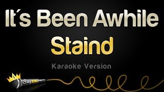 Staind - It's Been Awhile (Karaoke Version)