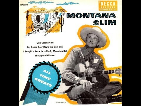 Wilf Carter - I Bought A Rock For A Rocky Mountain Gal (1954).