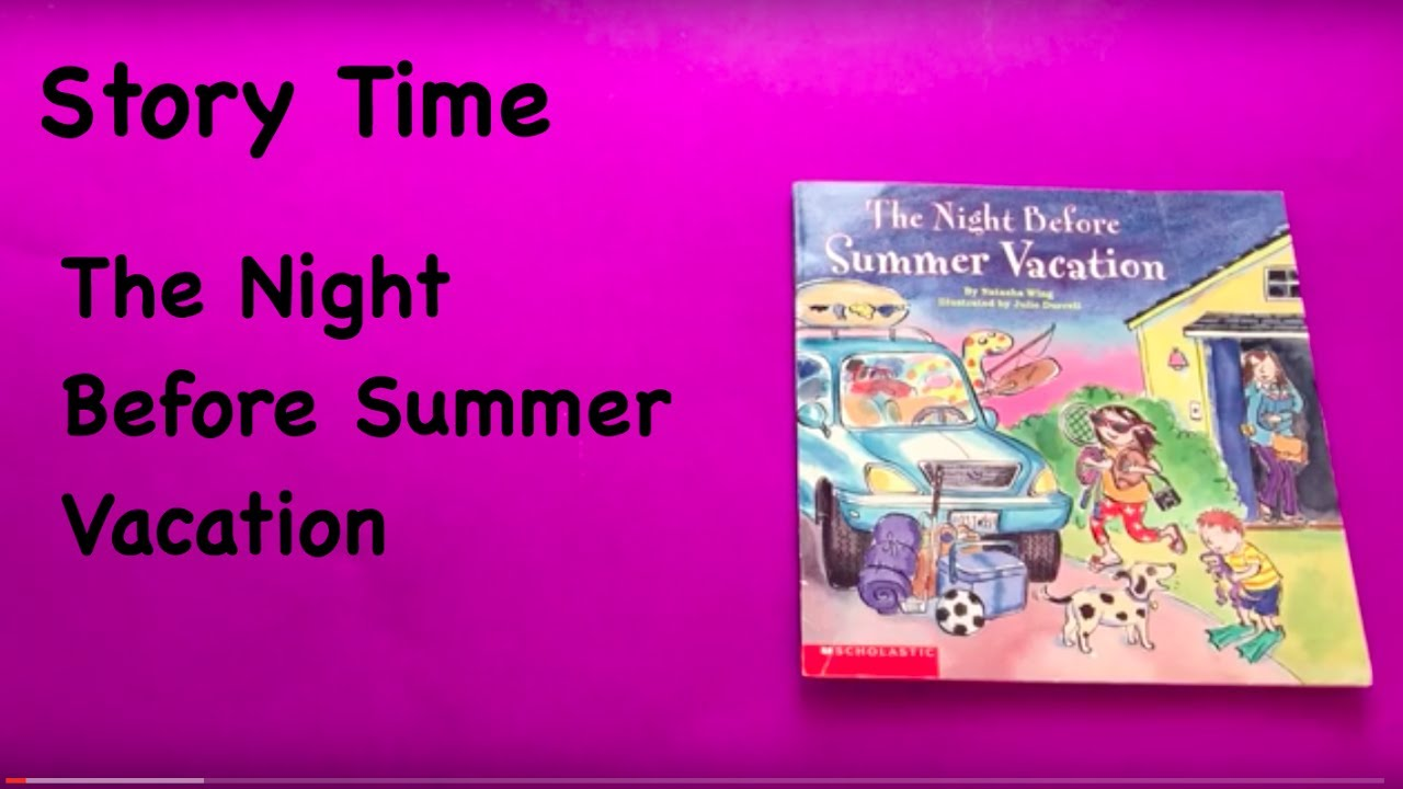 a fortnight before the summer vacations Manker: a summer vacation survival letter from future you  the kitchen had  ample food for all of about three hours, before it hit you that you  other summer  week up with camps – well, all but the two weeks you were able to.