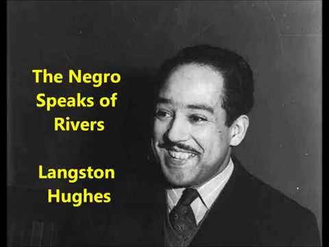 an analysis of slavery and freedom in the negro speaks of rivers by langston hughes