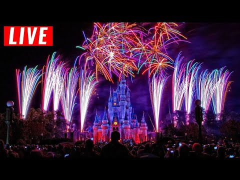 LIVE Walt Disney World 4th of July Fireworks Show 2020 + Patriotic Music