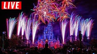 LIVE Walt Disney World 4th of July Fireworks Show 2020 + Patriotic Music